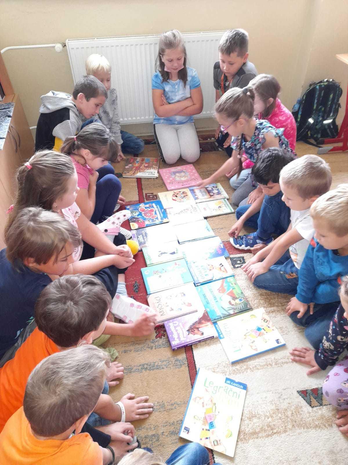 Knížky, které děti přečetly o prázninách