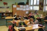 čtení ve třídě při pasování na čtenáře