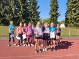 Pořadí vítězů se všemi účastníky mladší dívky
