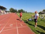 Vítěz závodu v cíli